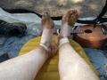 really dirty feet
