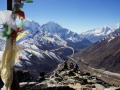 top of nangkartshang peak