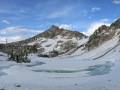 frozen upper trail creek lakes