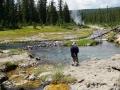 Mr. Bubbles hot springs